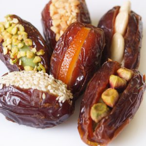 Dates with nuts